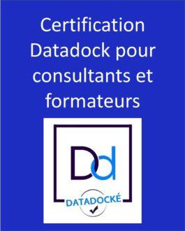 Certification Datadock pour consultants et formateurs