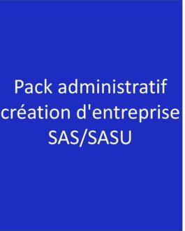 Pack administratif création SAS/SASU